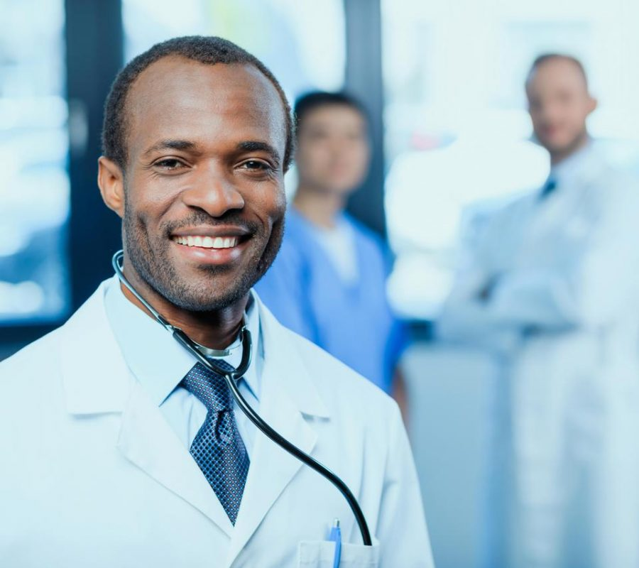 African Doctor Smiling